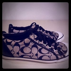 Women's Canvas Signature Coach low tops Sneakers B